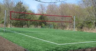 backyard volleyball court