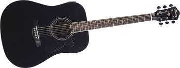 black ibanez acoustic guitar