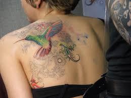 hummingbird tattoo art