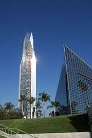 at the Crystal Cathedral