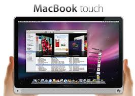 apple notebook touch