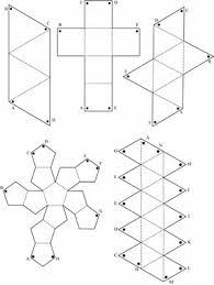 platonic solids nets