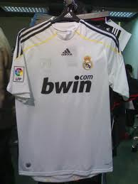 real madrid shirt 09