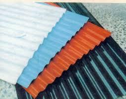 corrugated iron sheeting