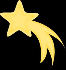 free shooting star clip art