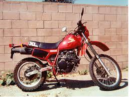 1983 honda xl600r