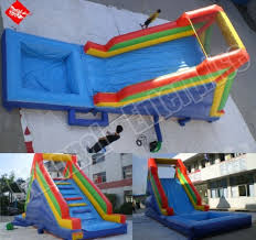 inflatables water slides
