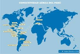 mapa de vuelos