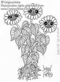 flowers dancing