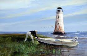 lighthouses paintings