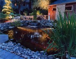 koi pond lights