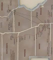 laura ingalls wilder map