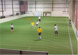 indoor soccer game