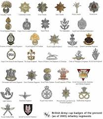 british army cap badges