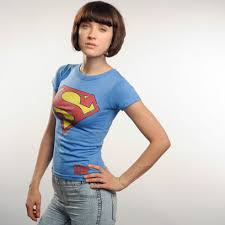 girls superman t shirt