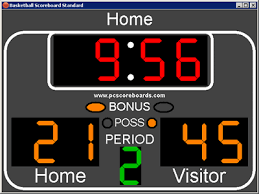 basketball scorekeeping
