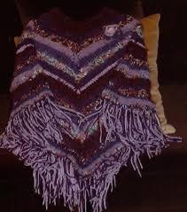 knitting poncho