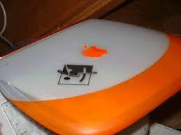 orange mac laptop