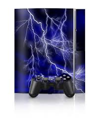blue playstation 3