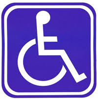 disable parking sticker