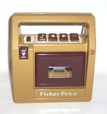 fisher price tape player