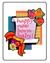 new born greeting cards