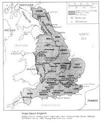 map of anglo saxon england