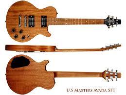 mahogany guitar neck