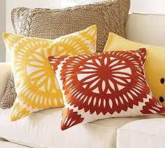 crewel pillows