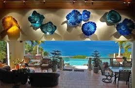 glass wall sculpture