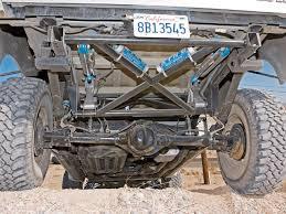 prerunner rear suspension