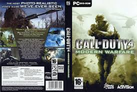 call of duty 4 dvd