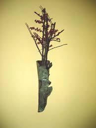 ceramic wall vase