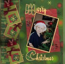 christmas scrapbook page ideas