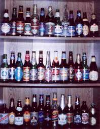 display bottles