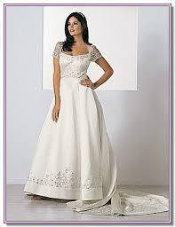 modest bridal dress