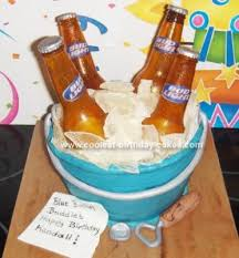 beer shaped cakes