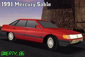 mercury sable 1991