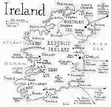 detailed map of ireland