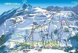 les 2 alpes map