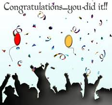congratulation greeting card
