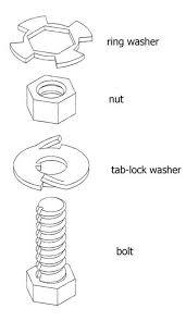 lock tab washer