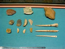 pictures of stone age tools