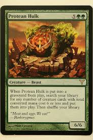 green magic cards