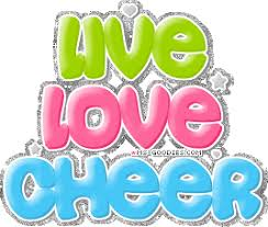 cheerleading glitter