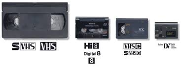 old video tapes