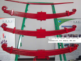 parabolic leaf springs