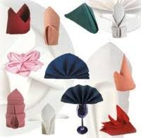 napkin folding for weddings