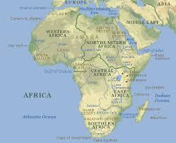 karta afrike