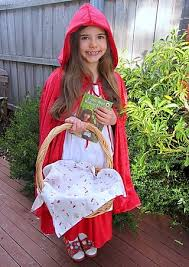 childrens little red riding hood costume